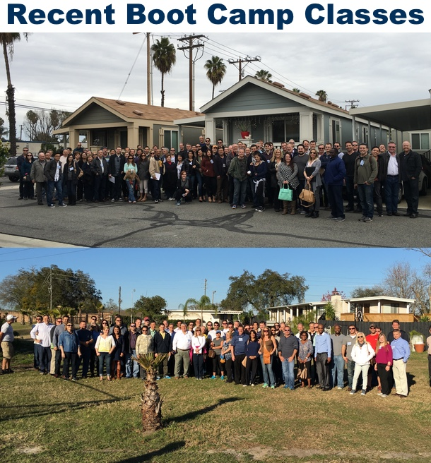 mobile home park boot camp class pictures