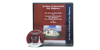 Mobile Home Park Investment Due Diligence Manual