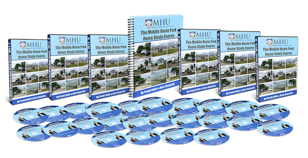 mobile home park investing home study course