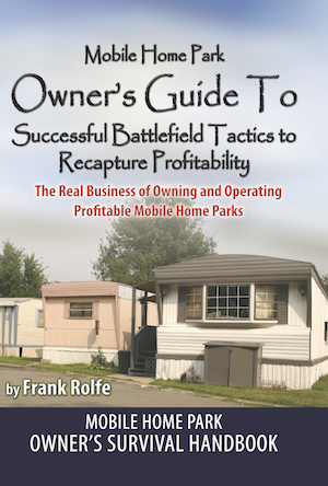 Mobile Home Park Owners Guide E-Book