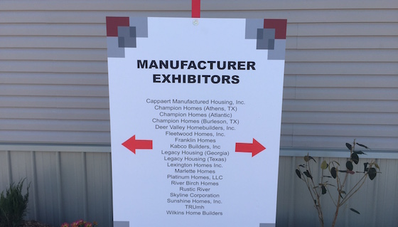 Tunica Mobile Home Show Obscure Manufactures