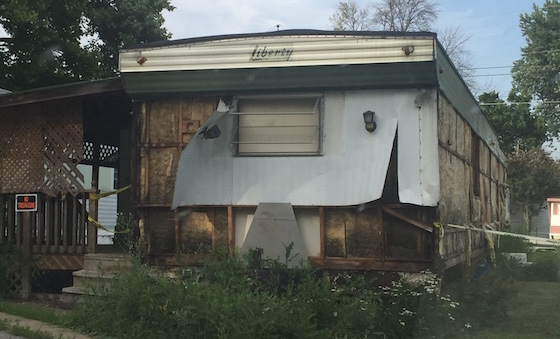 mobile home beyond repair