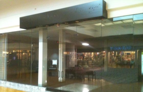 Empty Retail Store
