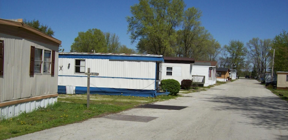 Old Mobile Home Park Club House