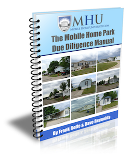 30 Days Of Successful Due Diligence On Mobile Home Parks