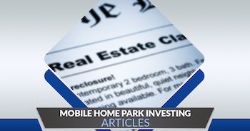 Mobile Home Park Investing Articles