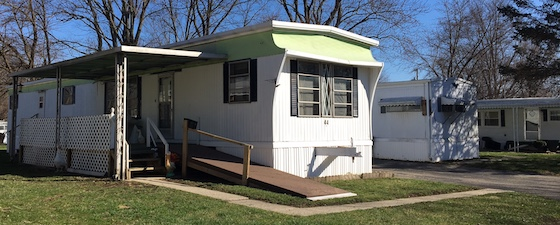 Older Mobile Home