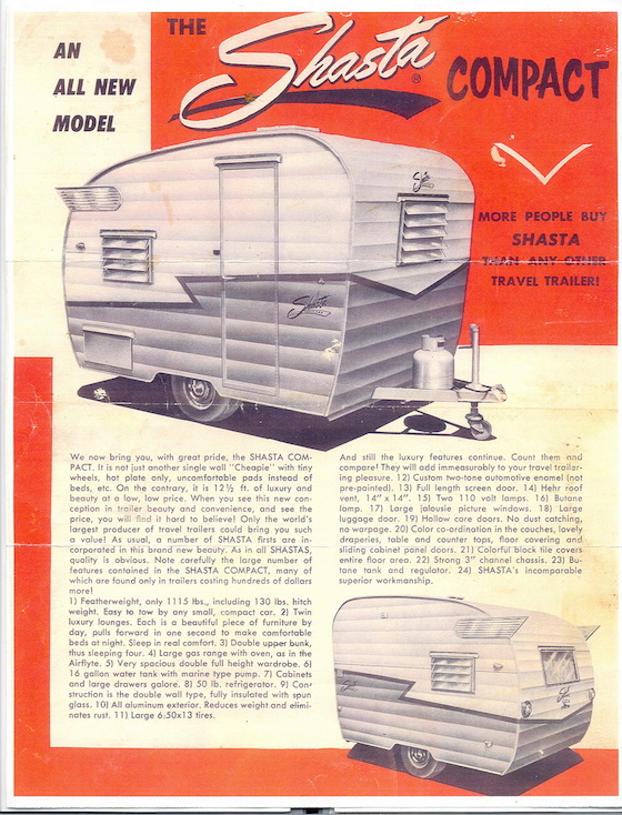 shasta mobile home