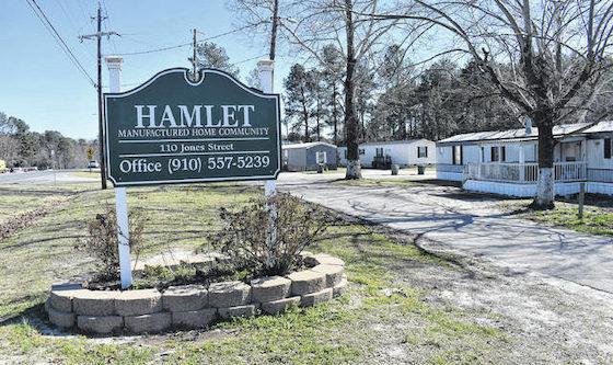 hamlet ne mobile home park
