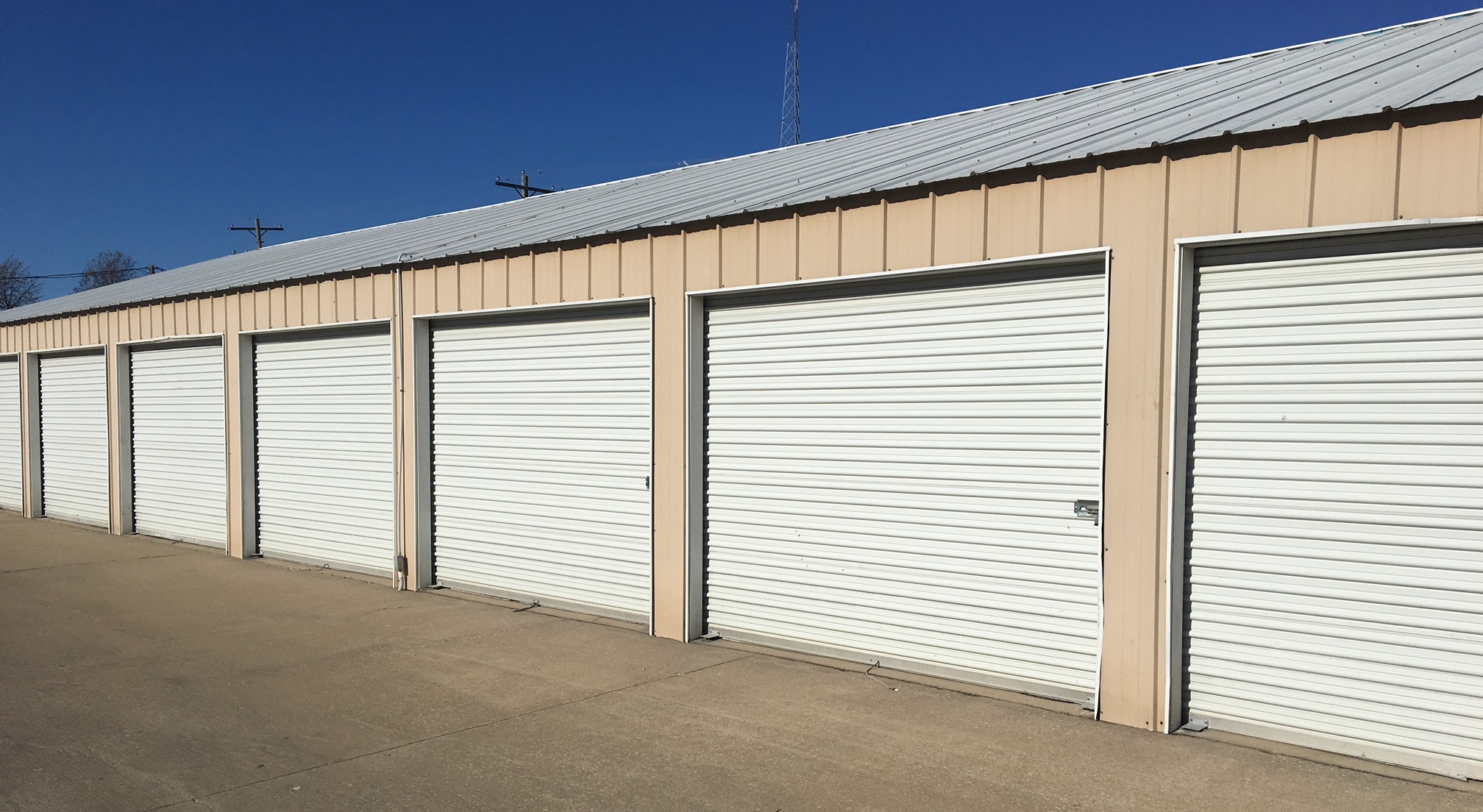 storage in mobile home park