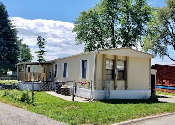 A Mobile Home Fixed By Impact Cares