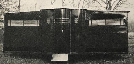 art deco mobile home