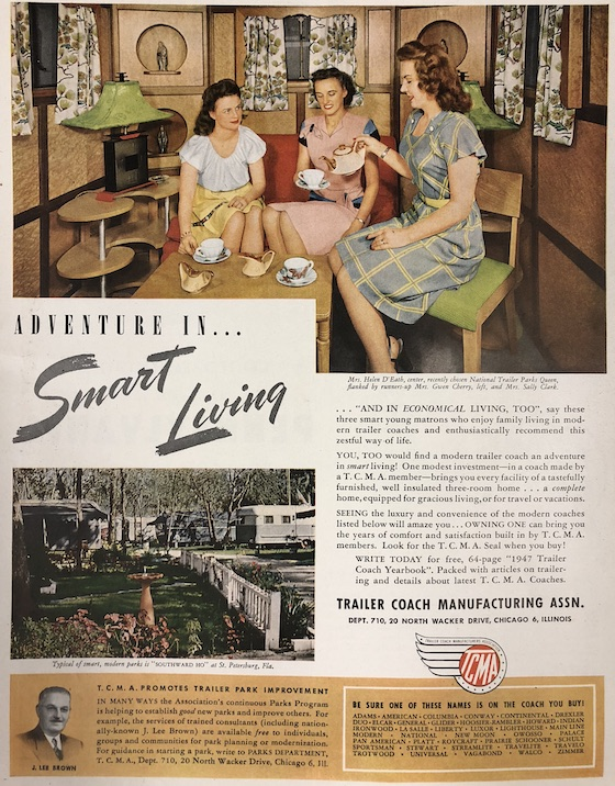 smart living mobile home ad