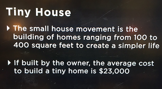 tiny home facts