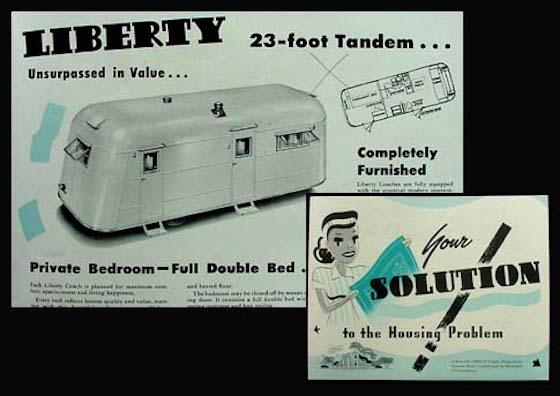 1946 Liberty Trailer Home