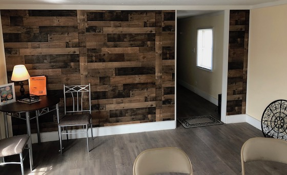 mobile home interior access wall