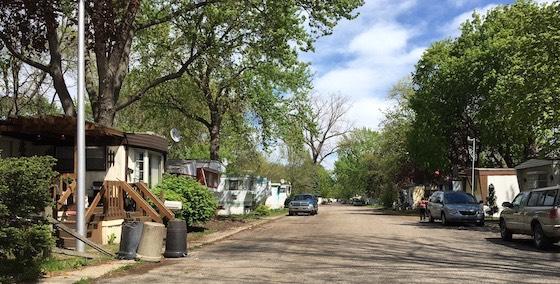 8 mile mobile home park