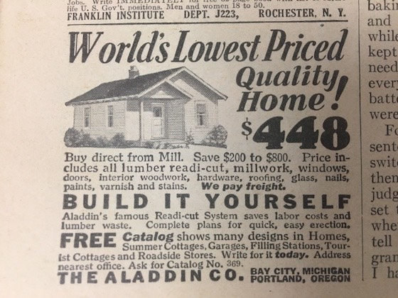 mobile home ad