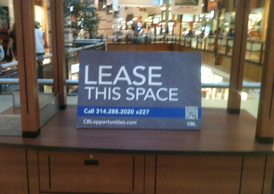 Empty Retail Kiosk