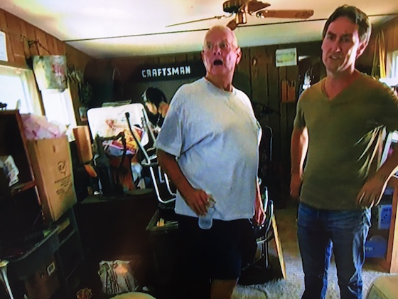 American Pickers In A Mobile Home