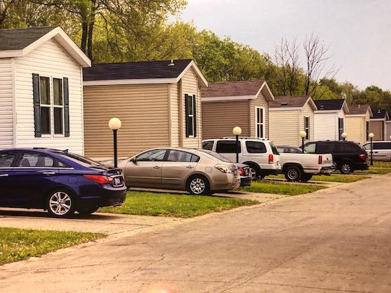 mobile home park street
