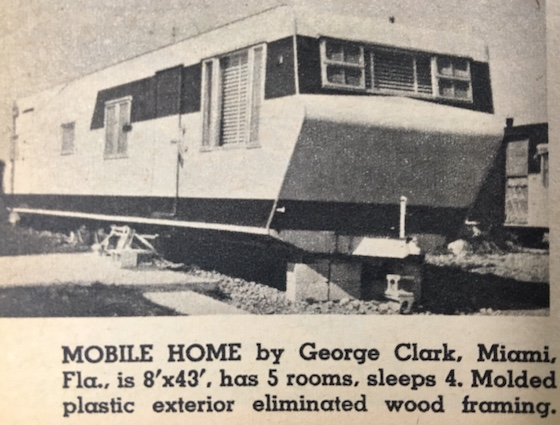 old mobile home ad