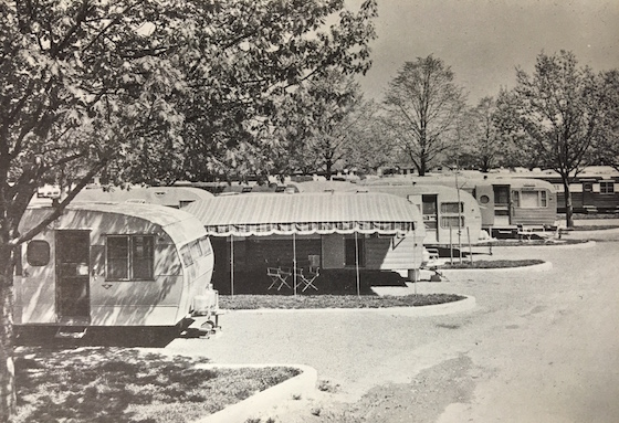 1950's mobile home park