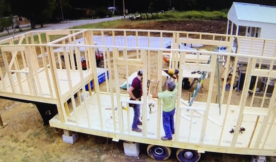 framing a mobile home