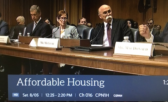 affordable hosuing debate in congress