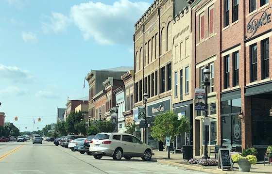 downtown square